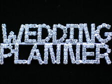 """PRONG SET SILVER CLEAR RHINESTONE PARTY WEDDING PLANNER PIN BROOCH JEWELRY 3"""""""