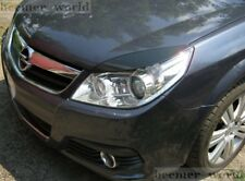 Vauxhall Vectra C, Signum  eyebrows spoiler ABS plastic, headlight spoiler