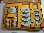 Vintage Miniature Toy Tea Set Daisy Floral 17 Pc Made In Japan Straco FJ Strauss
