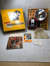 Vintage Kodak Brownie Hawkeye Flash Outfit Camera W/ Accessories In Original Box