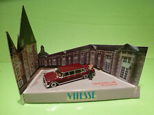 VITESSE MERCEDES BENZ 600 PULLMAN - RED/BROWN 1:43 - EXCELLENT ON SHOP DISPLAY