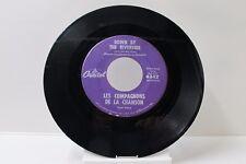 """45 RECORD 7""""- LES COMPAGNOUS DE LA CHANSON- DOWN BY THE RIVERSIDE"""