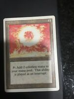 Magic The Gathering MTG Revised Sol Ring - Low Play