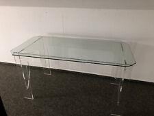 Acryl - Glas - Tisch
