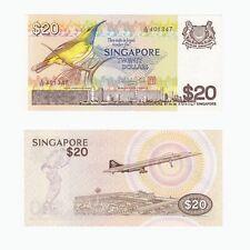 SINGAPORE - $20 Dollars Banknote (1979) P12 - UNC.