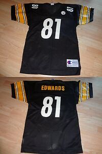Youth Pittsburgh Steelers Troy Edwards M (10/12) Vintage Jersey Champion Jersey