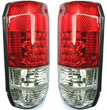 Toyota Land Cruiser LJ 79 Rear Tail Signal Lights Lamp Set Left+Right Led white