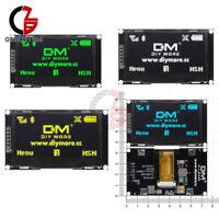 "4 Colors 2.42"" inch OLED Display SSD1309 128x64 SPI Serial Port for C51 STM32"