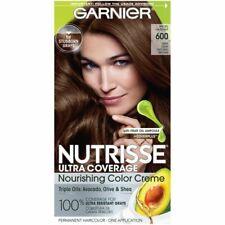 Lot of 2 Garnier Nutrisse Color Creme Permanent Hair Color #600 Spiced Hazelnut