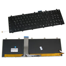 Original Tastatur mit Beleuchtung QWERTZ DE für MSI GT60 MS-16GC MS16GA S262