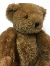 "Vermont Teddy Bear Company Classic Jointed Bear  Light Brown 16"" Plush Stuffed"