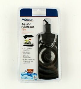*Aqueon Aquatic Flat Heater For Aquariums Up To 10 Gallons, Black, 7.5 Watt