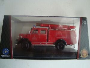 Miniature Truck Firefighter Magirus Deutz 150D 10F TLF16 1/43 New Box Plexi
