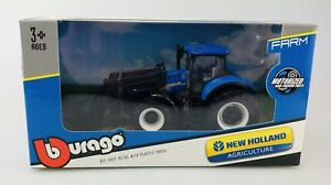 BBURAGO NEW HOLLAND AGRICULTURE T7.315 31630 NEW TRACTOR 1:43 DIE CAST