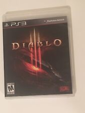 Diablo Iii (Sony PlayStation 3, 2013) Ps3 Video Game