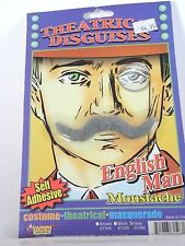 Theatrical Moustache Disguise Stage Costume Halloween Party Accessory Forum