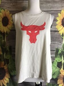 Women's Under Armour Project Rock Tank Size Large NWT
