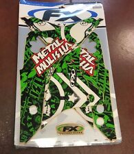 12-11124 BOX16 FACTORY EFFEX GRAPHIC KIT FULL KX450F 06-08 METAL MULISHA