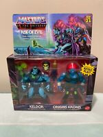 Masters of The Universe Rise of Evil KELDOR & ORIGINS KRONIS Action Figures MOTU