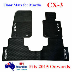 Waterproof Rubber Floor Mats Tailor Made For Mazda CX-3 2015 - 2020 Current