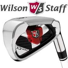 WILSON STAFF D100 GOLF IRON SET 5-SW +REGULAR STEEL SHAFTS @ 60% OFF RRP !!!!!!!