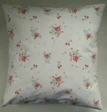 """Shabby Chic Cushion Cover in Next Ditsy Pink Rose 16"""" Matches Bedding Curtains"""