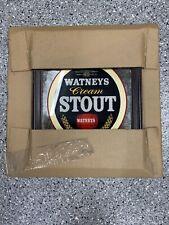 Vintage Watneys Cream Stout Beer Mirror Framed Sign New In Packaging! Rare!