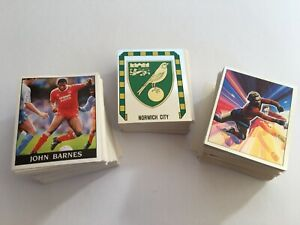 Panini Football 89 Complete Set of 480 Stickers (EXCELLENT Condition/Unstuck)