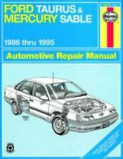 Ford Taurus and Mercury Sable, 1986 Thru 1995 by John Haynes and Haynes...