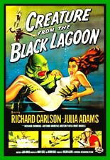 "4.75"" Creature From the Black Lagoon vinyl sticker. Classic movie monster decal."