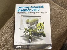Learning Autodesk Inventor 2017 by Randy Shih (2016, Paperback)