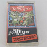 Genuine Houserockin' Music Vol 5 Blues Cassette Alligator Music 1993 Koko Taylor
