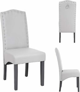 Kitchen Dining Chairs | Velvet & Faux Leather | Set of 2,4,6,8 | No Custom Fees
