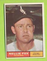 1961 Topps - Nellie Fox (#30)  Chicago White Sox