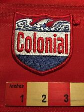 Vtg Red White Blue COLONIAL Patch ~ Thought To Be Police Or Security 66WB