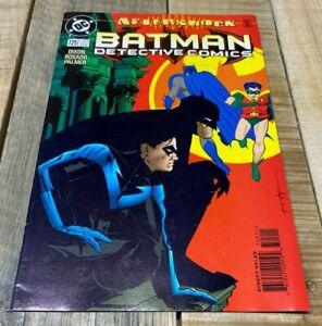 Batman Detective Comics #725  Aftershock  Joker Nightwing Great story  nice
