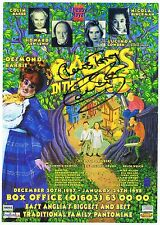 Colin Baker    Babes In The Wood  Signed  Playbill  Theatre  Flyer