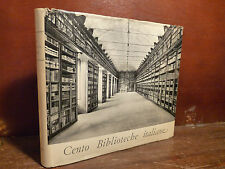 Biblioteconomia Architettura, Apollonj: Cento biblioteche italiane 1964 Palombi