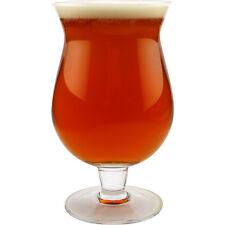 Imperial Belgian Beer Glass – 13 oz Tulip Pint - Belgium Bar Pub Glassware Drink