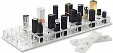 Acrylic Lipstick Makeup Organizer With Silicone 48 Spaces Fits Alex 9 Drawers