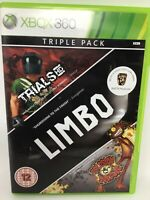 Trials Limbo Splosion Man Triple Pack PAL Version XBOX 360 Microsoft 2010