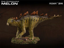 REBOR Dinosaur Collectables Scout Series Stegosaurus Baby Melon 1:35 scale