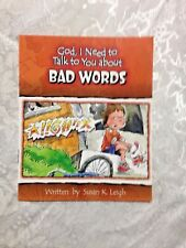 """God I Need to Talk to YOU about BAD WORDS"" 16 pages ages 3-7  *NEW*"