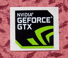 Nvidia GeForce GTX Sticker 17.5 x 17.5mm Case Badge Logo USA Seller