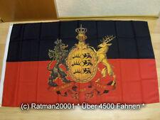 Fahnen Flagge Württemberg Furchtlos und Treu Sonder - 90 x 150 cm