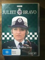 JULIET BRAVO COMPLETE SECOND 2ND SEASON SERIES 2 TWO DVD 80S BBC TV POLICE DRAMA