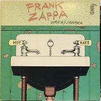 freak psych jazz rock LP FRANK ZAPPA Waka / Jawaka Hot Rats ♫ Mp3 OG 1st Bizarre