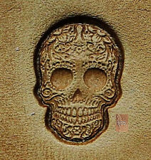 CRAFTOOL - TANDY LEATHER - MINI 2D 3D STAMP - 8863 - SUGAR SKULL - 8863-00 - NEW