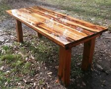 REAL Old Growth Ancient Pecky Sinker  Cypress Plank Wood Desk or Harvest Table