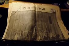 Vintage Newspaper DAILY MAIL February 16, 1952 King's Funeral Issue 24pp